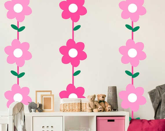 Flower Vines Wall decal