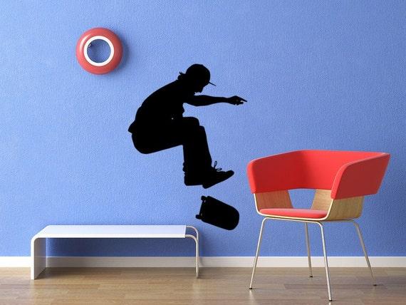 Skateboarder Vinyl Decal Sticker Graphic No. 3