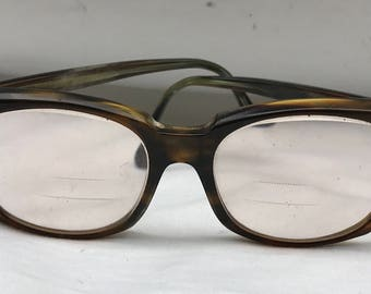 4d01a4f0be7 Vintage 60s Bausch and Lomb Titmus Z87 Safety Glasses Tortiseshell Frames  Perscription Eyewear 4 1 2 X 5 3 4 Steampunk Retro Eyeglasses