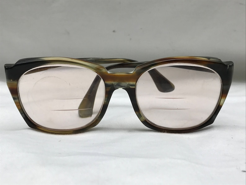 8c6b0717c97 Vintage 60s Bausch and Lomb Titmus Safety Glasses Tortiseshell