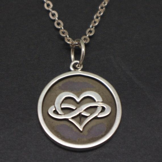 Polyamory necklace jewelry polyamory symbol pendant polyamorous relationship gift