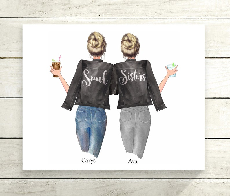 Soul Sisters printbestie gifts gifts for Sisters best image 0