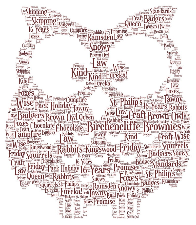 Owl Personalised Gift Word Art Brownies Teacher Thank You image 0