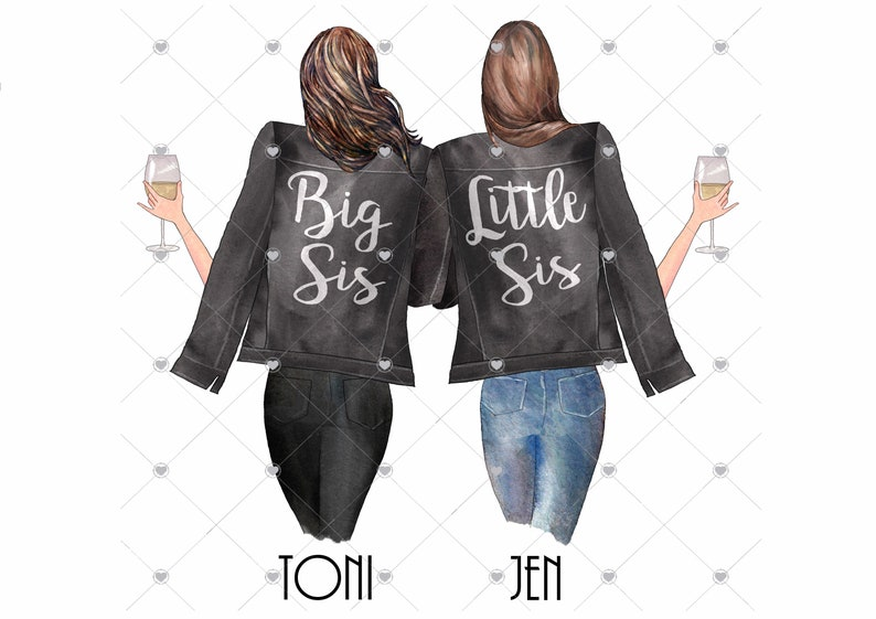 Sister printbestie gifts gifts for Sisters best friend image 0