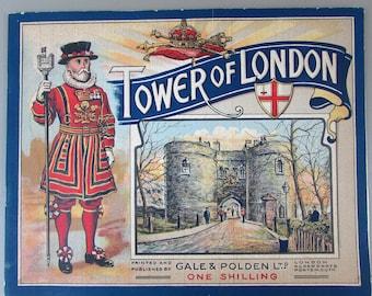 Antique Tower of London Souvenir Brochure - Gale & Polden Ltd - One Shilling - Edwardian