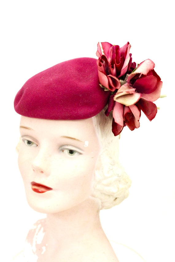 Vintage Doll Hat Miniature Hat Doll Fascinator 193