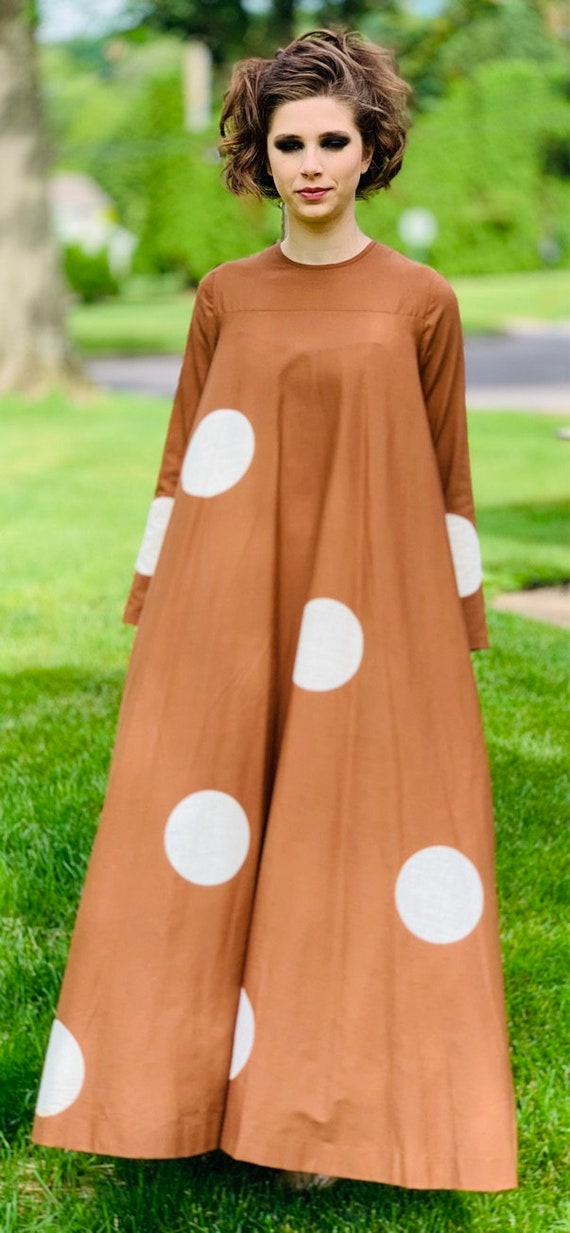 Vuokko 1970 Pallo Annika RImala Vintage Tent Gown