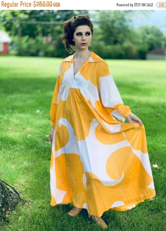 "Limited Time 25% Off Marimekko Gown ""Jokeri""  Anni"