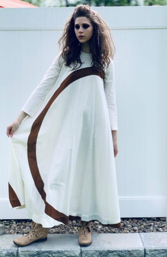 Sale Today Puolikas Vuokko Nurmesniemi Gown Trape… - image 2