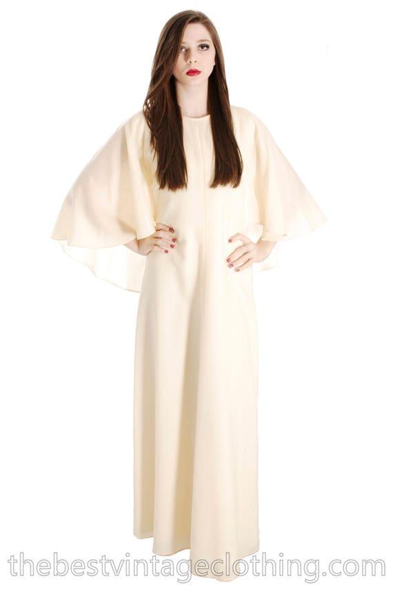 Sale Today Stunning Vuokko Circle Cape Gown 1960s… - image 2