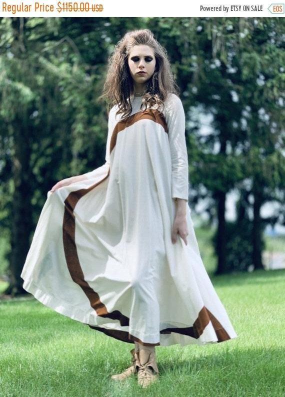 Sale Today Puolikas Vuokko Nurmesniemi Gown Trape… - image 1