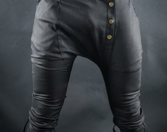 Cyberpunk Psytrance party Burning Man Steampunk trousers long pants rave psychedelic goa men/'s clothing Men festival pants Clothing