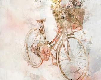 Flower Journey 01: Giclee Fine Art Print