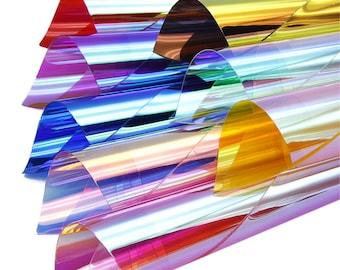 ce63d9b154 Holographic pvc | Etsy