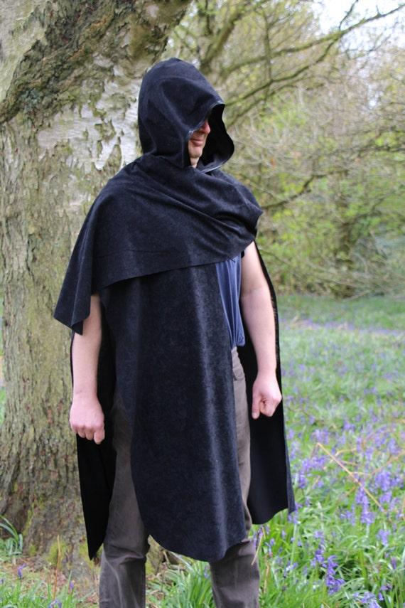 Friendly Hunter cloak Robin Medieval Knight Hood Assassin Cape Ranger Destiny Lightsaber Adult Apprentice Cosplay Archer Warrior Jedi tqExwT4nIa