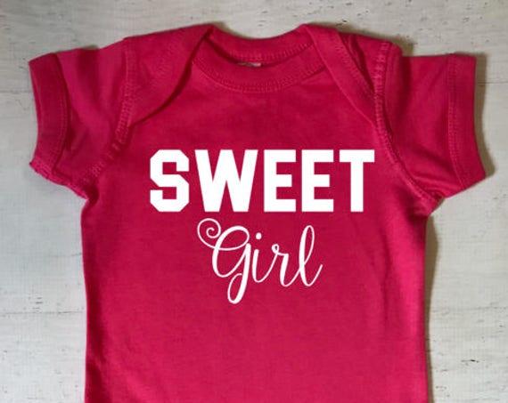 Sweet Girl Baby Bodysuit
