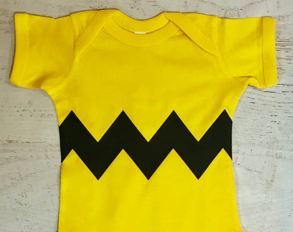 Halloween Costume Zig Zag Bodysuit Zig Zag Motif Chevron Style printed on FRONT & BACK