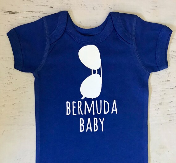 Aviator Sunglasses Bermuda Baby pictured in Royal printed in White