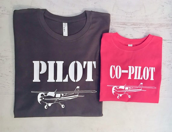 Cessna 150 Pilot Co-pilot Family Pick your Aviation and color combo