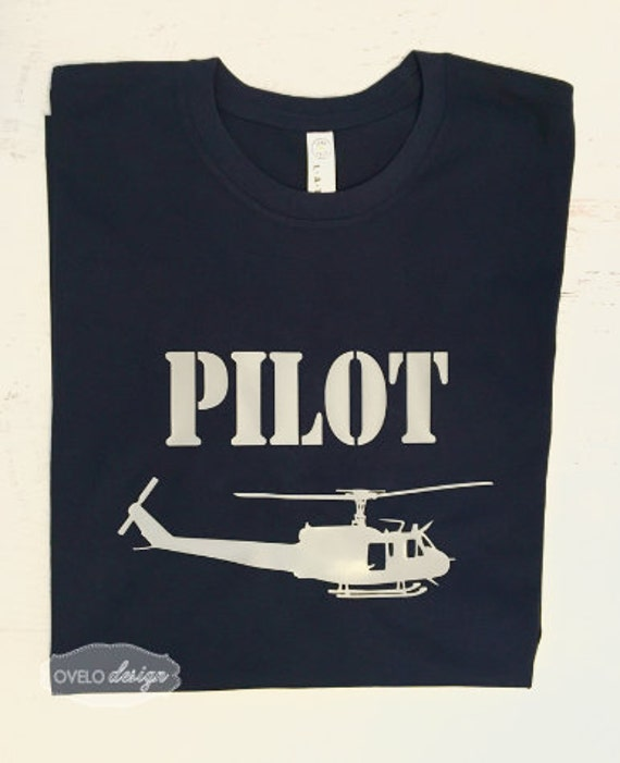 Huey Helicopter Pilot T-shirt