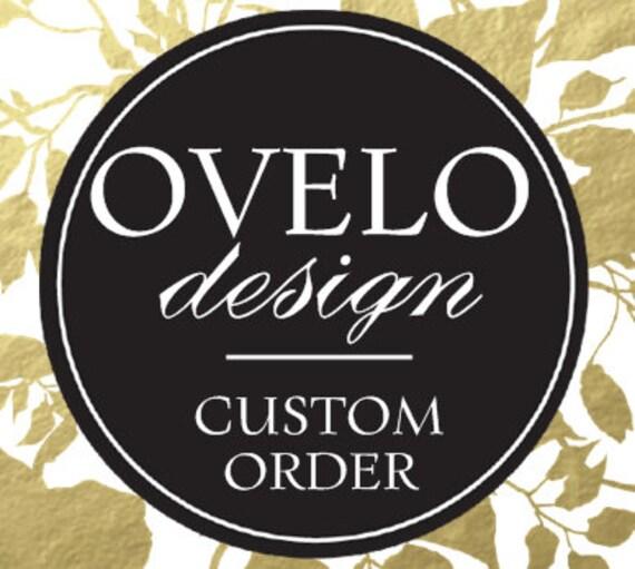 Custom order for Paulette