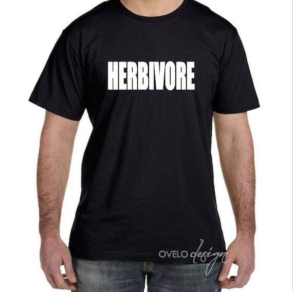 HERBIVORE funny Vegetarian or Vegan shirt