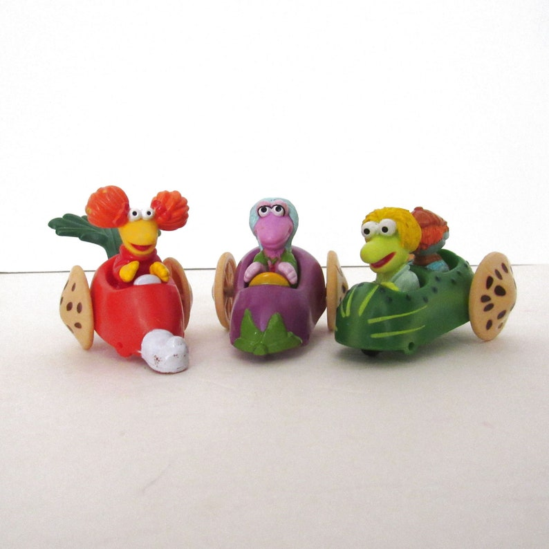 Fraggle Rock Happy Meal Toys  Vintage 1980s McDonalds Toys  image 0