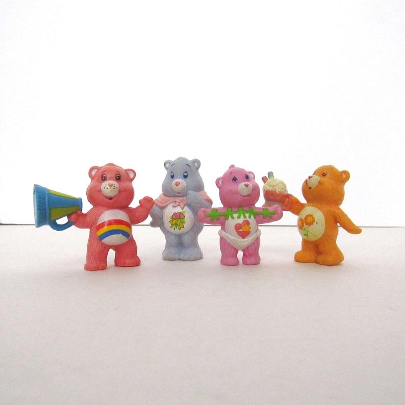 Vintage Care Bear Figurines  1980s Nostalgia  Miniature 2 image 0