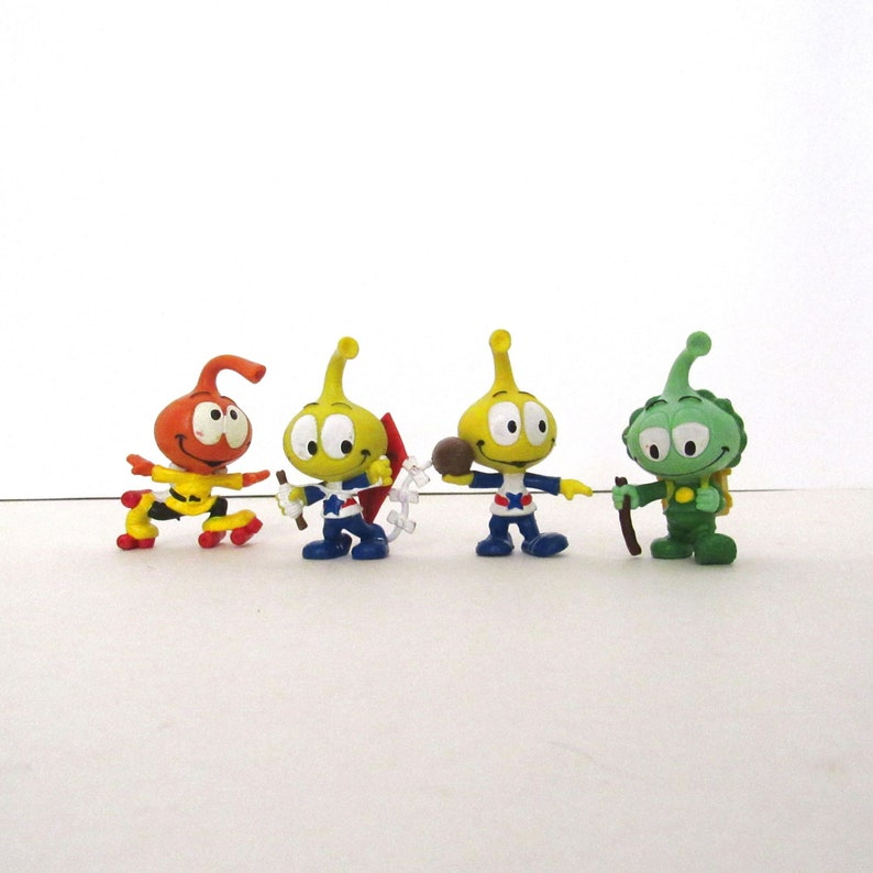 Vintage Snorks Toys  Miniature Figurines  Instant Collection image 0