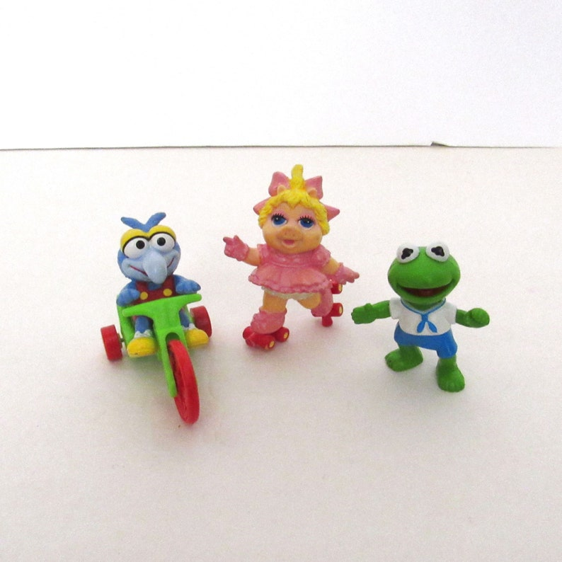 80s Muppet Babies Toys  Vintage McDonalds Happy Meal Toys  image 0