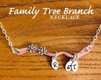 Flowering Family Tree Branch Made Of Recycled Copper Reduce Reuse Repair Renew Recover Reclaim