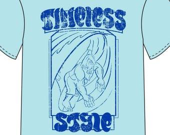 """Surfsquatch """"Timeless Style""""  T-Shirt"""
