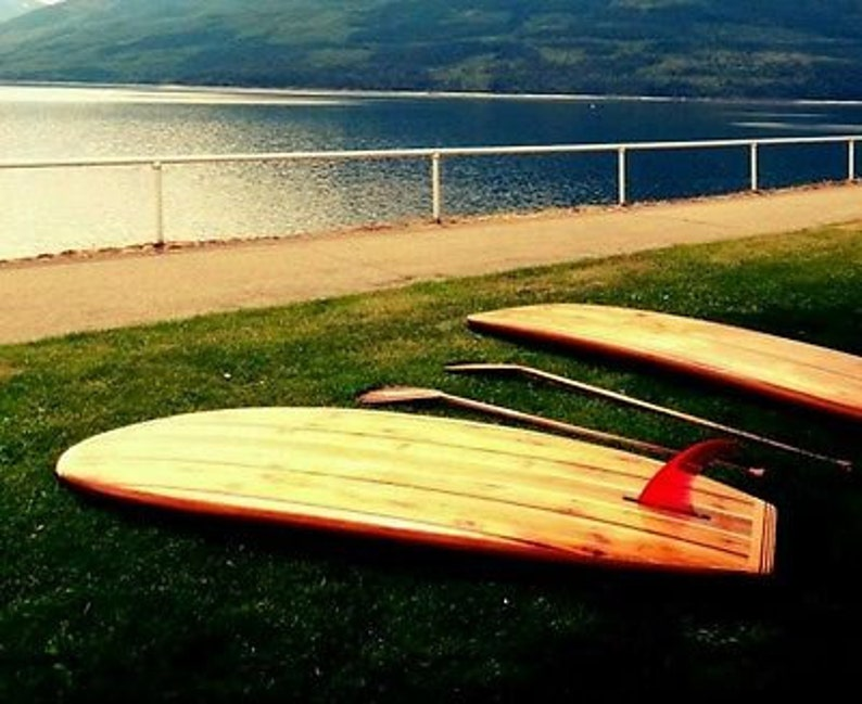 Build Your Own 8 Hollow Wooden Stand Up Paddleboard E Book Instantly Download Plansblueprints