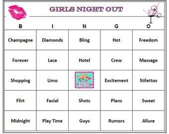 Naughty Ladies Night Games
