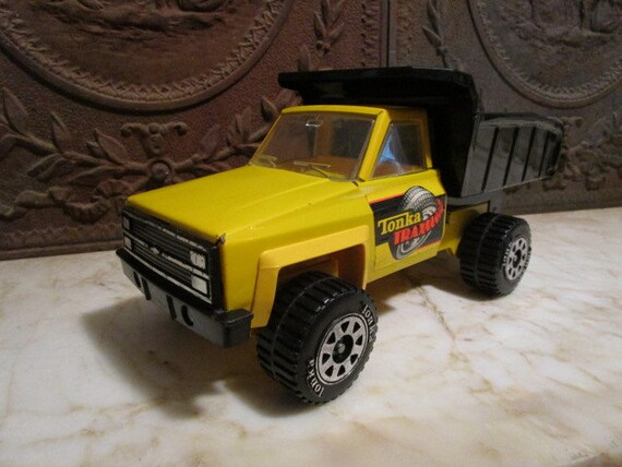 Vintage 1983 tonka trax chevrolet camion benne etsy - Camion benne tonka ...