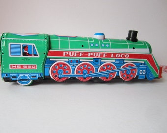 "Vintage '1970s' Puff-Puff the Locomotive""."