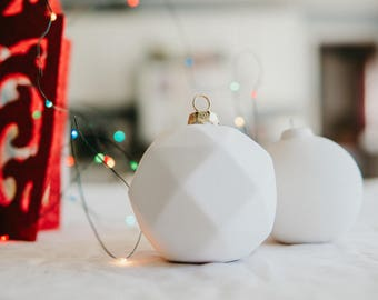 diy christmas ornament paint your own christmas ornament ceramic kids project handmade ceramic from my charleston studio - Paint Your Own Ceramic Christmas Decorations