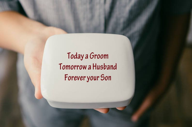 Mother of the Groom Gift from Son  Keepsake  Mother of the image 0