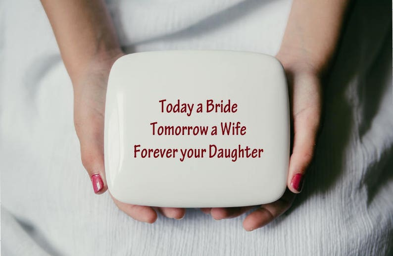 Father-of-the-Bride-Gift from Daughter  Mom Wedding Gift  image 0