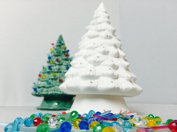 DIY Ceramic Christmas Tree Kit U Paint Kids Projects