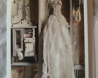 The Dolls House (dress) greetings card