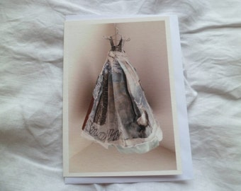 The Dress greetings card