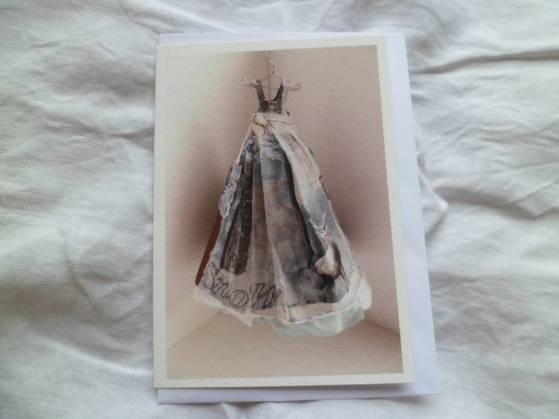The Dress greetings card image 0