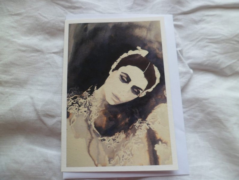 The Ballerina greetings card image 0