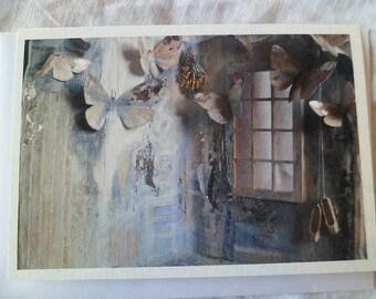 The Moth (1) greetings card
