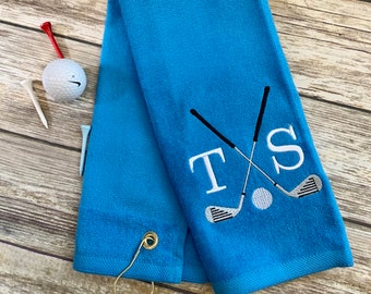 golf towels personalized