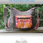 The Hydrangea Hobo Bag - PDF Sewing pattern