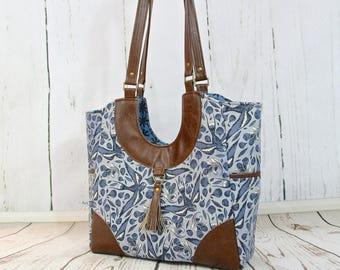 The Trillium Tote Bag - PDF Sewing Pattern