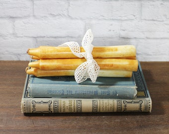 Vintage Stick Candles for decoration - French decoration candles - French decor