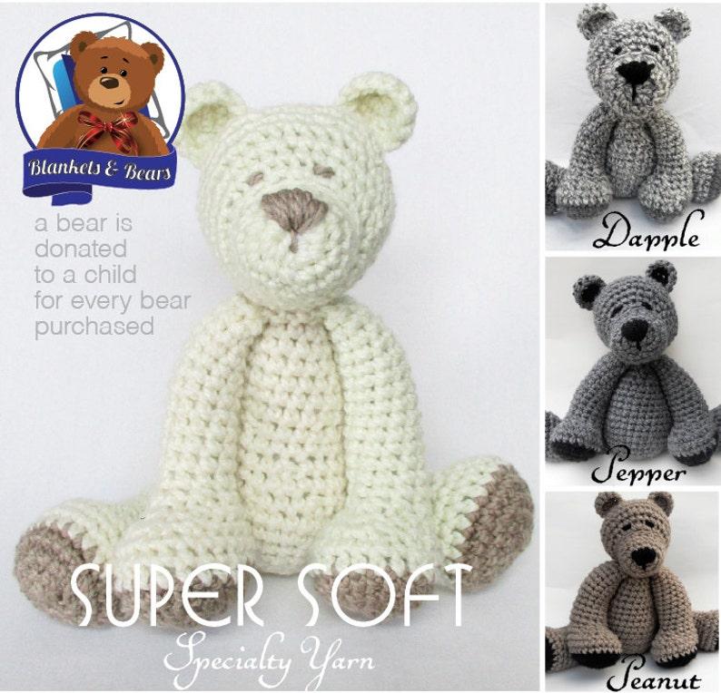 Crochet Teddy Bear SUPER SOFT image 0
